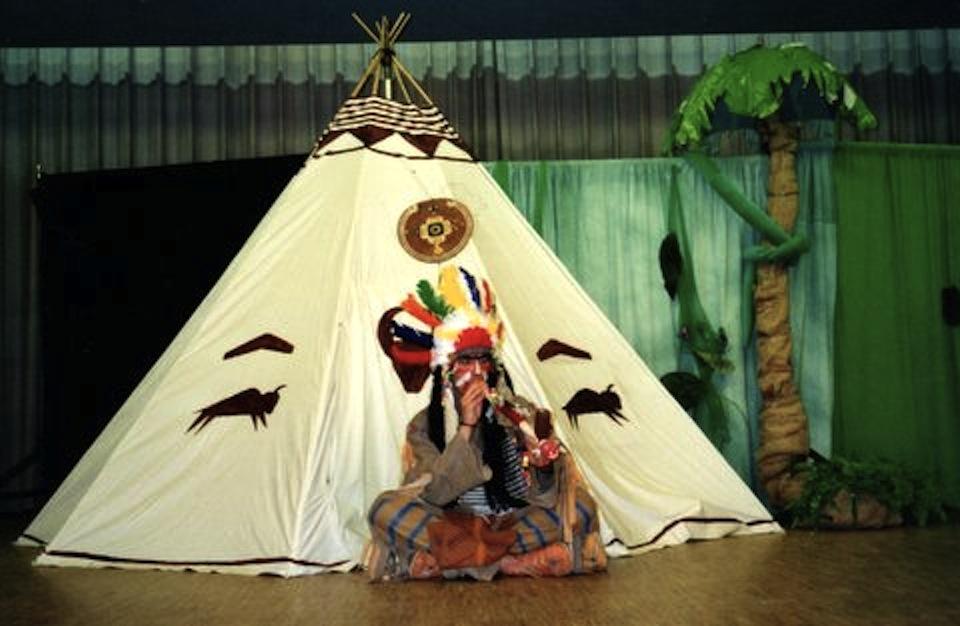 KK bei den Indianern